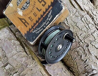 J W Young & Sons, Condex fly reel. Good condition, with box.