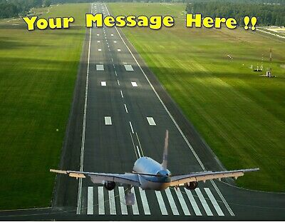 AIRPLANE AIRPORT RUNWAY Edible Cake Topper Frosting Sheet  quarter & half size - Airplane Cake Topper