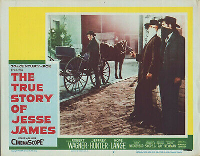 The True Story of Jesse James (1957) 11x14 Lobby Card (The True Story Of Jesse James 1957)