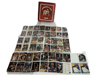Lot NBA Basketball 1990s Cards Michael Jordan Bird Malone Barkley Johnson Album comprar usado  Enviando para Brazil