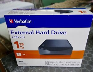 Verbatim 1TB USB External HD