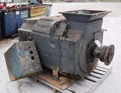 400 HP DC Reliance Electric Motor, 400 RPM, B843AT Frame, DPFV, 500 V