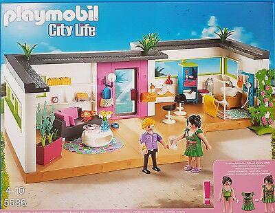 Playmobil 5586 Gästebungalow kombinierbar mit Moderne Luxusvilla 5574 Neu / Ovp