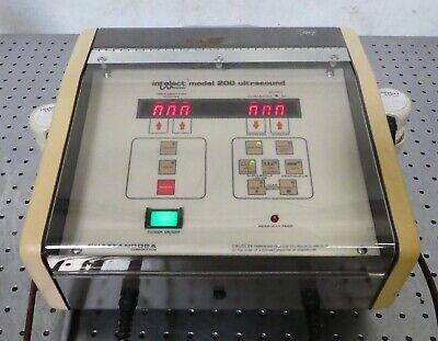 R164799 Chattanooga Intelect Model 200 Ultrasound W 71228 71229 Applicators