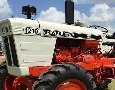 David Brown 1210 Selectamatic Decals K962148 K962149 K962151 K962152 K962153