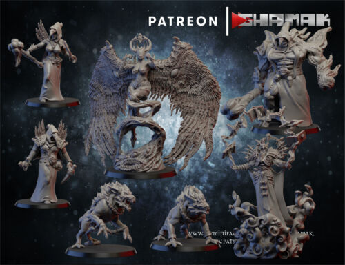 Ghamak cultists and daemon squad