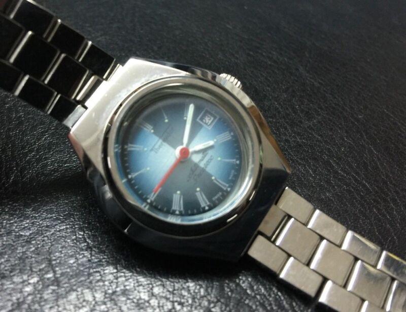 NOS NEW Thermidor automatic date reloj watch vintage mujer women e5b95da40389