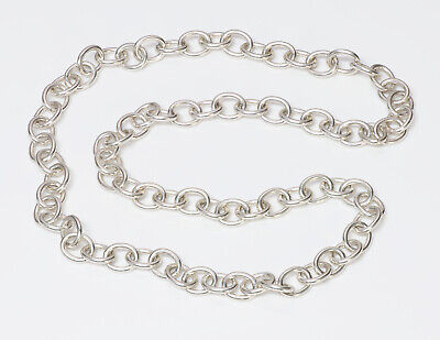 Vintage Tiffany & Co. Sterling Silver Chain Necklace