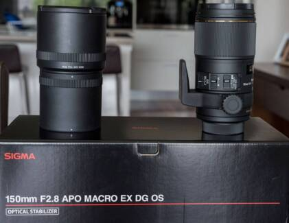 SIGMA 150mm F2.8 APO MACRO EX DG OS