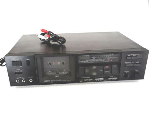YAMAHA Natural Sound Stereo Cassette Deck K-600 - TESTED