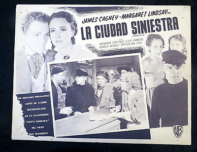 FRISCO KID James Cagney Margaret Lindsay Ricardo Cortez LOBBY CARD 1935
