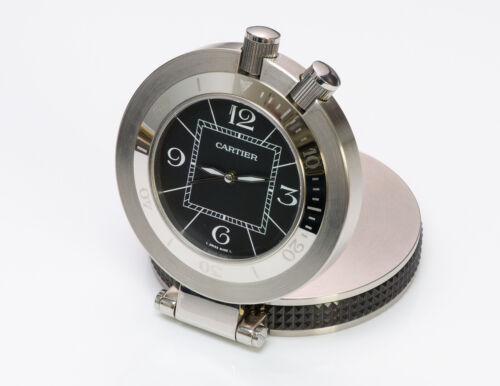 Cartier Pasha Alarm Travel Clock Pocket Watch Ref. 2876