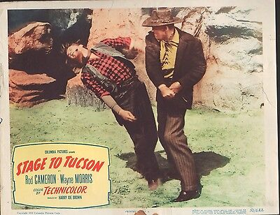 Stage to Tucson 1950 11x14 Lobby Card #3
