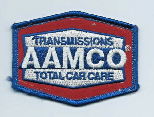 AAMCO tramissiions total car care employee patch 2-1/2 X 3-1/4 #1938