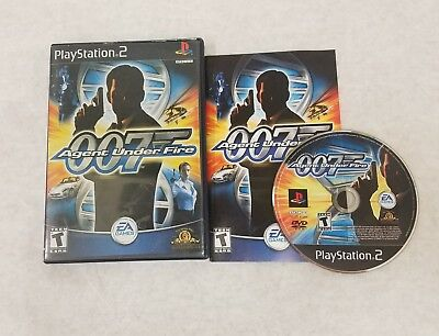 007 Agent Under Fire (Sony PlayStation 2) ~ Complete PS2 Video Game FREE S/H