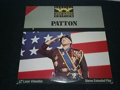 PATTON - Wide Screen Edition Laserdisc  - Stereo Extended Play movie CBS FOX