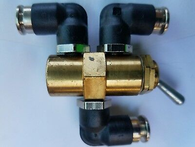 2 Position 3 Way Air Pneumatic Switch Control On Off Toggle Valve