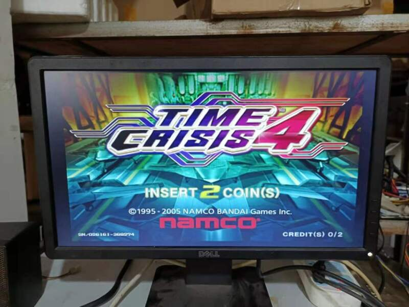 Namco System Super 256 with Time Crisis 4 Arcade Game Tested Working
