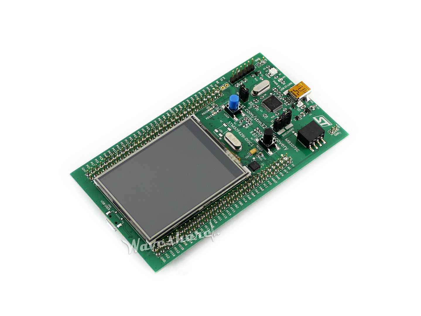 32F429IDISCOVERY/STM32F429I-DISC1, STM32F4 Discovery Kit On-board ST