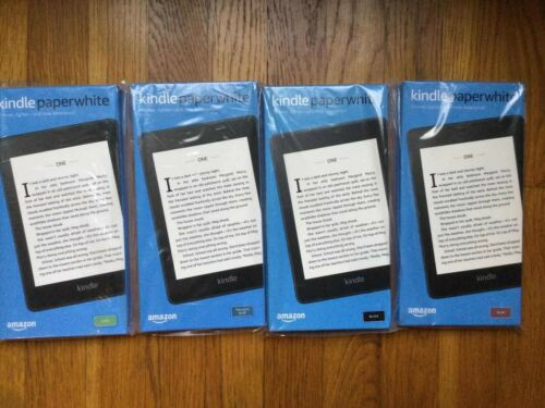 Brand New Kindle Paperwhite Waterproof with 8GB with offer 10th Gen multi color