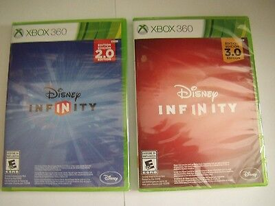 Disney Infinity 2.0 & 3.0 Game Disc Brand Sealed In Case ...