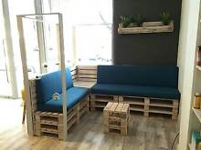 Rustic Pallet Recycle Upcycle Retro industrial furniture Shoalwater Rockingham Area Preview