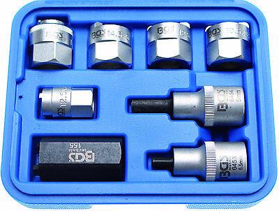 BGS Federbein-Werkzeug-Kolbenstangenmutter Stoßdämpfer Einsatz Spreizer Nüsse  (Bein Spreizer)