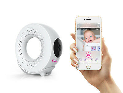 Used, iBaby Monitor M2S Plus, 1080p Full HD Wi-Fi Digital Video Baby Monitor with Temp for sale  Shipping to Canada