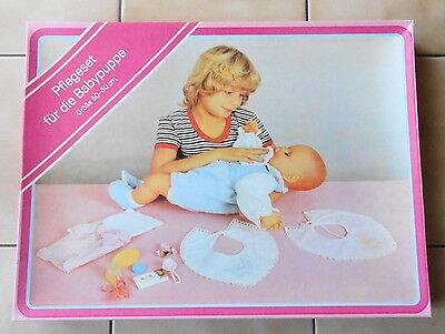 Pflegeset für die Babypuppe Puppe DDR Spielzeug VEB Plasticart unbespielt   online kaufen