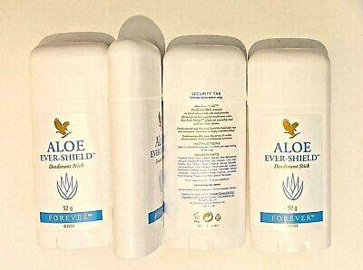 Aloe Ever-Shield Deodorant Stick x 4 pack Forever Living