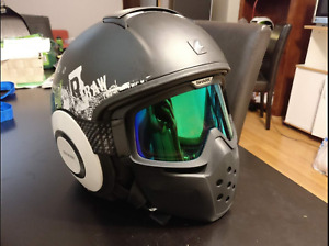 SHARK RAW/DRAK MOTORCYCLE HELMET