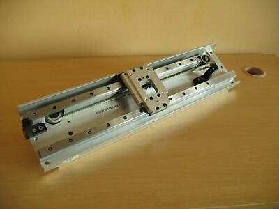 Linear Actuator 440mm Iko Rail Belt Drive Nema23 Stepper Motor - X Axis Cnc