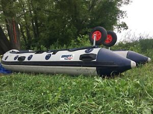 Mountaineer 360 inflatable boat 12.5 feet and more
