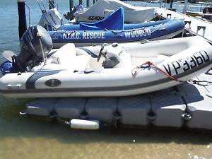 Avolon 380 Inflatable RIB with 40hp 4Stroke Yamaha with trailer Noosaville Noosa Area Preview