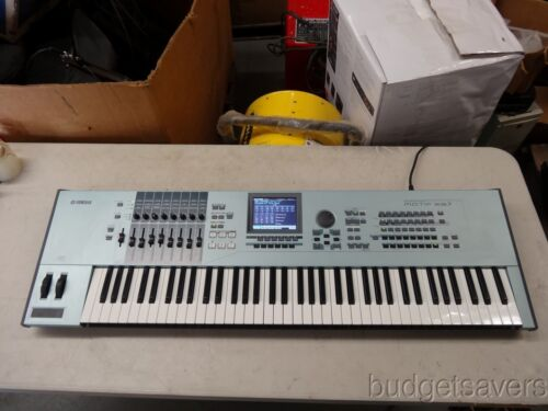 Yamaha Motif Xs7 76-key Synthesizer/workstation Keyboard as Is For Repair