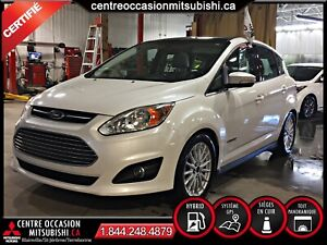 Ford C-Max Hybrid SEL 2015 CUIR + TOIT-PANO + NAVIGATION + 8 PNE