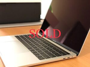 13-inch MacBook Pro 2017 - Silver $$$SOLD$$$