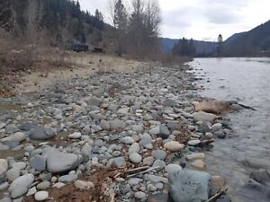 Similkameen river gold claim - double cell