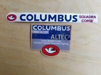 0095 Columbus Squadra Course Frame Stickers Decals