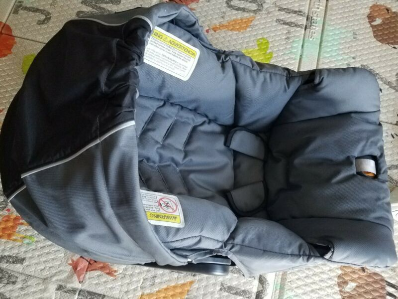 Chicco Fabric Car Seat Cover & Hood Gray