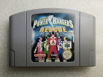 Jeu Power Rangers Lightspeed Rescue pour Nintendo 64 N64 PAL