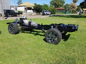 Land Rover Defender 110 Heavy Duty Gal Rolling Chassis CUSTOM Rutherford Maitland Area Preview
