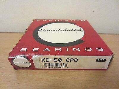 Consolidated Bearings Kd050cp0 Deep Groove Ball Bearing Kaydon Kd050cp0