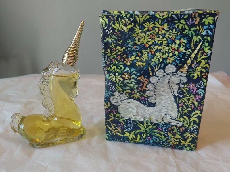 Vintage Avon Unicorn Decanter. Charisma Cologne. New In Box