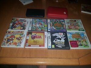 Nintendo 3ds xl black with awesome games