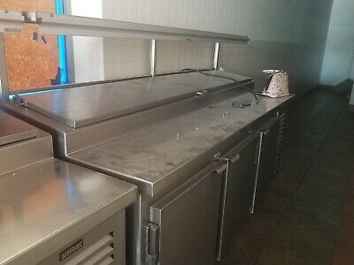 Kairak Door Refrigerated Saut Prep Table