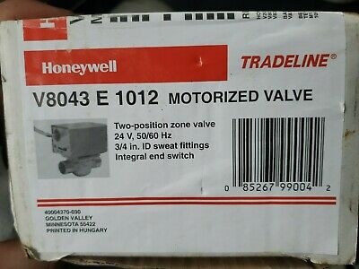 Honeywell Zone Valve V8043e1012