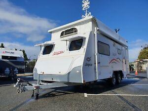 2015 Jayco Journey 17.55 Pop Top Caravan Barragup Murray Area Preview