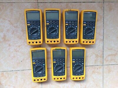 1pc Used 100 Fluke187 Tested Dhl Or Ems P3987 Ll