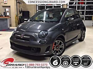 2015 Fiat 500 Turbo TURBO*TOIT OUVRANT*AUDIO BEATS*